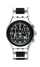 SWATCH - IRONY CHRONO - BLACK MOVE - YCS459G - NEW !