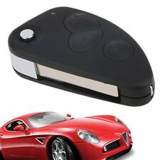 3 Button Flip Remote Key Fob Shell Case Fits For Alfa Romeo 147 156 AB