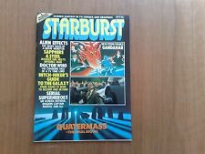 STARBURST MAGAZINE VOL.1 #15 NOV 1979 ALIEN, DR. WHO, QUATERMASS VERY FINE COND