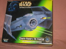 Star Wars  TIE Fighter 1996 Kenner Darth Vader's with Launching Laser Cannons