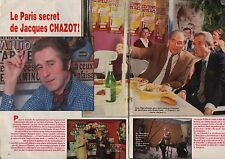 Coupure de presse Clipping 1985 Jacques Chazot   (2 pages)
