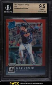 2016 Donruss Optic Red Max Kepler ROOKIE RC /99 #54 BGS 9.5 GEM MINT