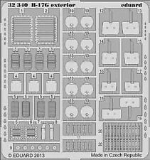Eduard 1/32 Boeing B-17G Flying Fortress Exterior for Hong Kong kits # 32340