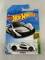 Hot Wheels - Mclaren P1 White Long Card - Diecast 1:64 - BOXED SHIPPING