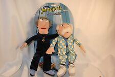 The Muppets Statler and Waldorf Grumpy Old Men Plush Dolls Set Jim Henson 2003