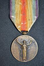 BIB MEDAILLE MILITAIRE INTERALLIEE DE LA GUERRE 14 18 FRENCH MEDAL WW1