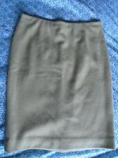 Marc Cain designer beige skirt 90% virgin wool, 10% cashmere size N2 (UK 10)