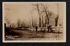 Formby - Old Mill Lane - real photographic postcard