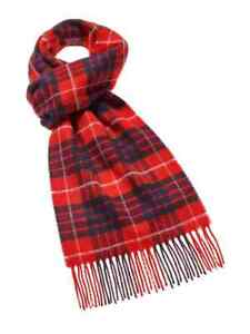 Tartan Scarf Collection - Red Fraser - Bronte by Moon