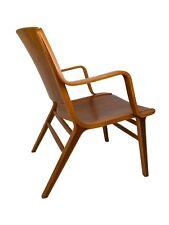 Mid Century Ax Easy Chair by Peter Hvidt for Fritz Hansen Teak Danish Modern