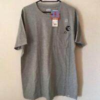 UNIQLO SUPER MARIO Chomp Nintendo UT MEN'S Graphic T-Shirt Tops Gray S-XL