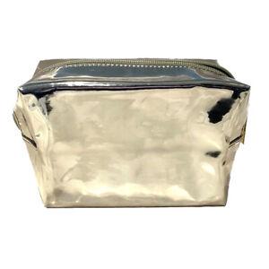 Sephora Gold  Cosmetics Toiletry Travel Bag Makeup Bag brand new with zipper