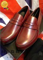 HARRYS OF LONDON James Satin Calf Leather Shoes UK5 US6 EU39 *BNWB* HARRODS