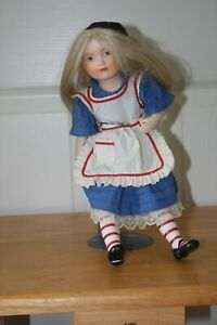 """11"""" collector doll with stand"""