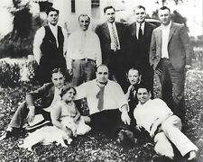 AL CAPONE GANG 8X10 PHOTO MAFIA ORGANIZED CRIME MOBSTER MOB PICTURE
