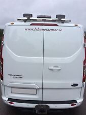 To Fit 13+ Ford Transit Tourneo Custom Rear Roof Bar + Beacon + Lamps + LEDs