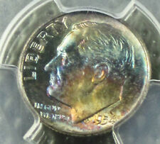 Toned 1954 Roosevelt MS-66  PCGS