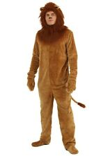 Adult Deluxe Cowardly Lion Wizard of Oz Costume XS M L XL 2X 3X 4X (Used)