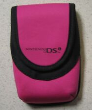 BD&A Neoprene Mini Travel Carry Case Pink Pouch DSi For DS 0E