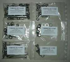 YAMAHA XS 1 2 650 1970-1972 Kit viti brugola inox 1+2+3 motore completo XS1 XS2