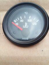 VDO Temperature Gauge / Clock Black Face 40 - 120° C, 12 Volt,  310 030 002
