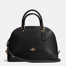 Coach Leather Large Sierra Satchel Hand Bag Black Fall 2017 F57524