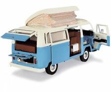 Schuco VW T2a camper blue white 1:18 450043500