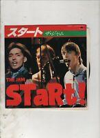 "THE JAM Start JAPAN 7"" w/PS MOD Paul Weller"