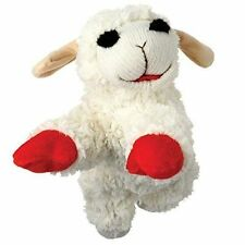 Multipet International Lamb CHOP Plush Squeaky Dog Toy 6 Inch