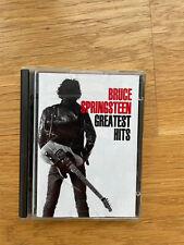 Minidisc Bruce Springsteen Greatest Hits album music