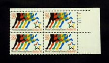 US Stamps #2748 ~ 1993 WOLRD UNIVERSITY GAMES 29c Plate Block MNH