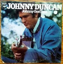 """JOHNNY DUNCAN """"Johnny One Time"""" USED 1968 Columbia LP VG+/VG"""