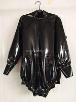 Latex Rubber Gummi Sports Yoga Bodysuit Kostüm Catsuit Size XXS-XXL