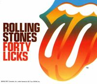 ROLLING STONES 2002 FORTY LICKS PROMO VINYLY STICKER DECAL-JAGGER/RICHARDS
