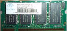 NANYA 256MB DDR333MHz PC2700S-25330 MEMORY RAM NT256D64SH8BAGM-6K