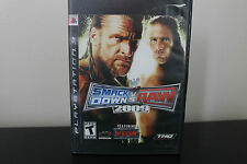 WWE SmackDown vs. Raw 2009 Featuring ECW  (Sony Playstation 3, 2008) *Tested