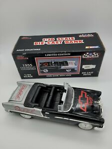 Racing Champions Diecast 1:25 scale 1955 Chevy Convertible BANK Dale Earnhardt