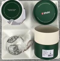 Iittala Christmas Collectible Oiva Toikka Mouth Glass Ball 2020 Flower NEW