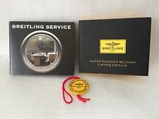 Breitling watch Instruction manual for Super Avenger Military Ltd Edt Last one.