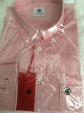 Southern Proper Button Front Shirt XL Madras Red 100 Cotton
