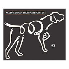 German Shorthaired Pointer Dog K-Lines Dog Car Window Tattoo Decal Sticker