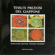 TESSUTI PREZIOSI DEL GIAPPONE - ED. COMPAGNIA DEI LIBRAI, 1985