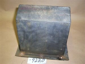 WESTERN FISHER 1000 Low Pro Salt Spreader House style Motor COVER P2121Y