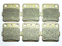 Front Rear Brake Pads For Yamaha ATV YFM 660 Raptor RN/RP/RPB/RR/RS/RT 2001-2005