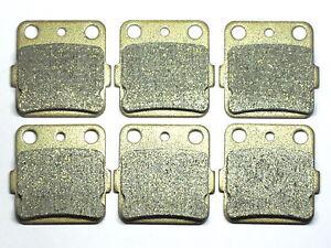 Front Rear Brake Pads For Honda TRX 250 X Fourtrax 87-92 300X 09-11 400X 2009-14