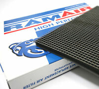 2 x RAMAIR Air Filter Foam Material + Cage Mesh Large - Scooter Motorcycle Quad