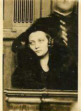 """""""Rachel MERY pendant l'audience 1931"""" Photo originale G. DEVRED (Agce ROL)"""