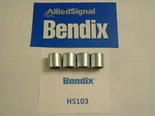 LOT OF 4 - BENDIX H5103 - HYDRAULIC CALIPER RETAINER SLEEVES - GM / JEEP - USA