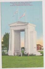 USA postcard - Peace Arch near White Rock, B.C (A3)