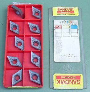 10 SANDVIK Wendeplatten DCGX 11T304-AL Wendeschneidplatten Schneidplatten WSP WP